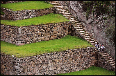 Stairway and Terraces, Main Square