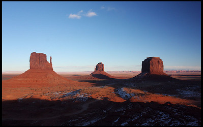 Monument Valley, Sunset